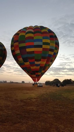 Magaliesburg, South Africa: What better in the morning than this!
