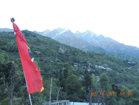 Sangla, Indie: pic taken from hotel terrace