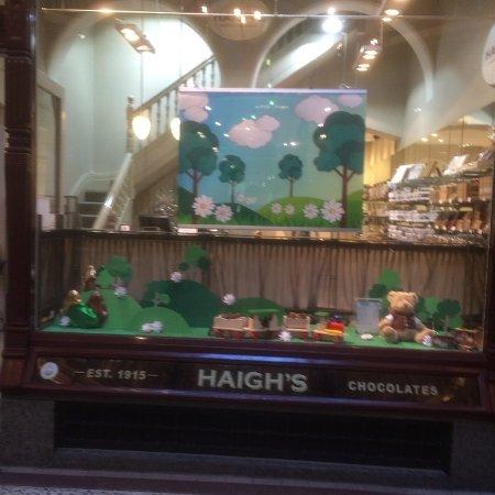 Haigh's Chocolates Block Arcade Bild