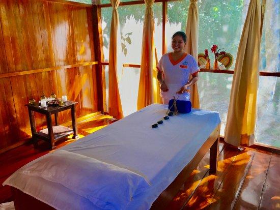 Refugio Amazonas: FABULOUS massages