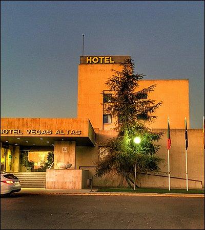 Don Benito, Испания: Vista fachada del hotel