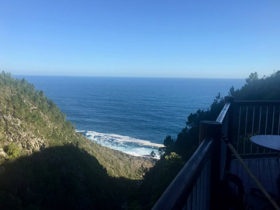 Storms River, Sudáfrica: View from The Fernery