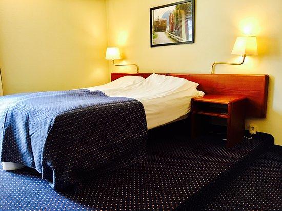 Lyngengarden Hotel Skaret: Behagelige senger
