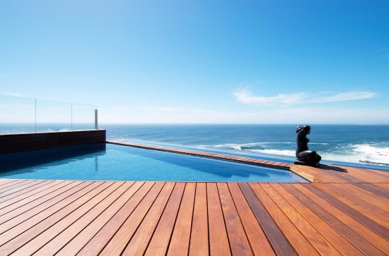 Bantry Bay, Sudáfrica: Villa Pool/Sea View