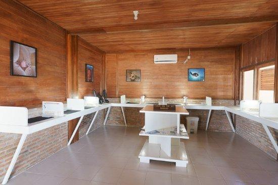 Siladen Island, Indonesia: sala fotografi
