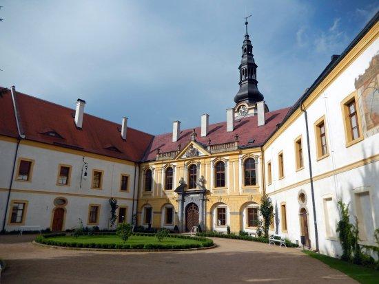 Děčín, Česká republika: entrance of Castle