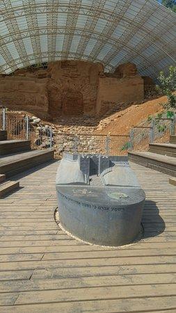 Tel Hazor National Park : the fortress