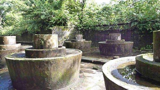 National Park Gorgona: Waschplatz