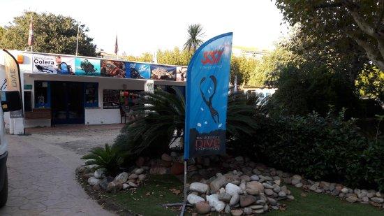 Colera, สเปน: Le diving center