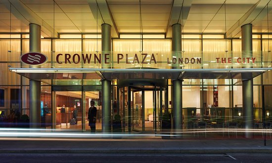 Crowne Plaza London The City: Hotel Exterior