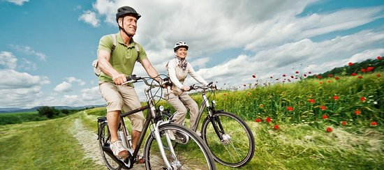Kalkhoff electric bike hire in Carlingford