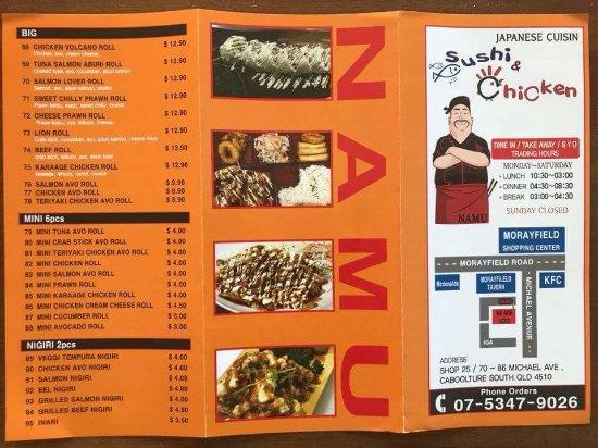 Caboolture, Australien: New menu~!!
