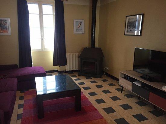 Quillan, ฝรั่งเศส: Living Room