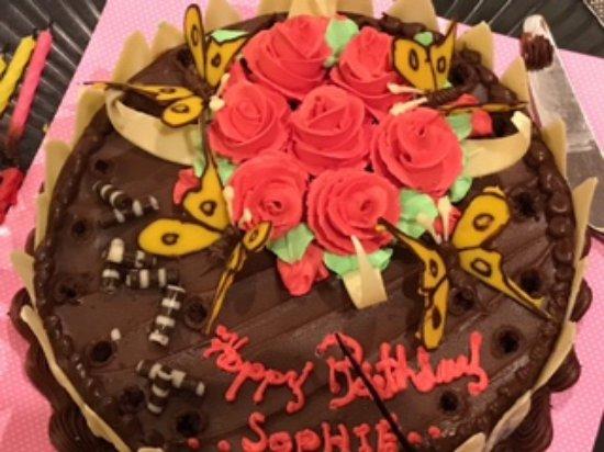 Thanyapura Health Sports Resort Beautiful 18th Birthday Cake With Creative Decorations
