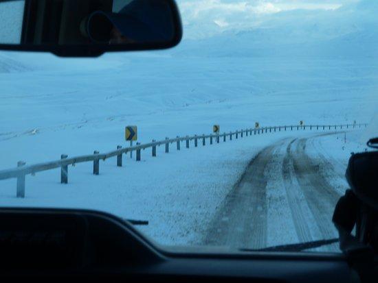 Región de Atacama, Chile: Oben kann es auch mal schneien