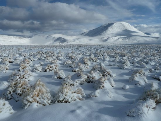 Atacama Region, Cile: Winterlandschaft, ca. 80 km nördlich von San Pedro