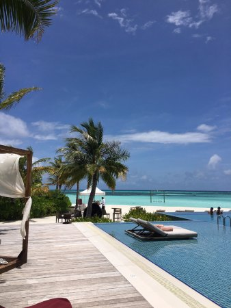North Male Atoll: the main pool.