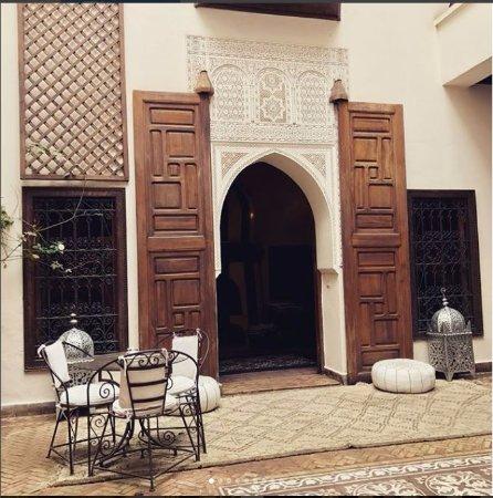 Zamzam Riad: ZamZam Courtyard