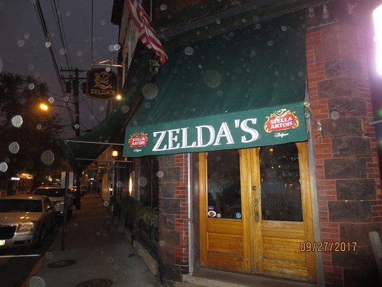 Cafe Zelda: entrance
