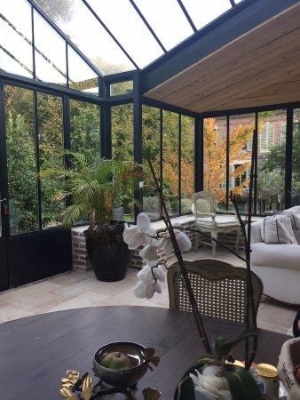 La Maison du Parc: L'Orangeraie, son salon
