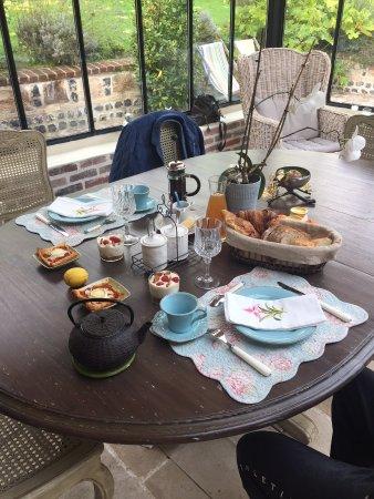 La Maison du Parc: Miam, miam, le petit déjeuner