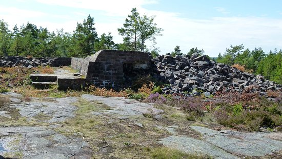 Gottby, Finland: remaining parts of the batteri