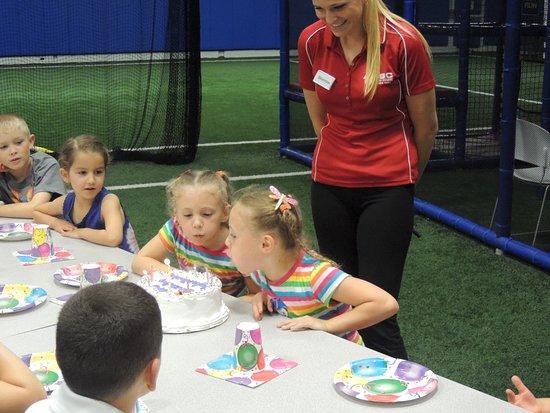 Branchburg Sports Complex offers the best birthday parites around!