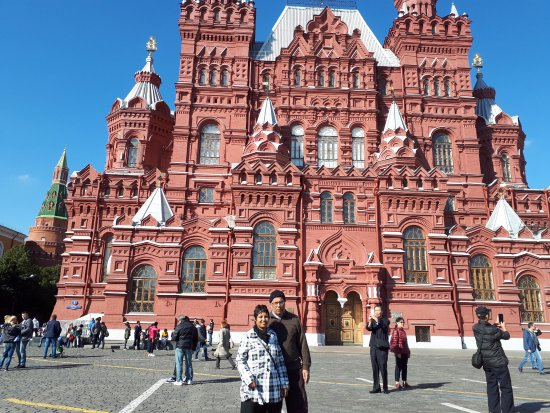Moscow Private Tours : in red square