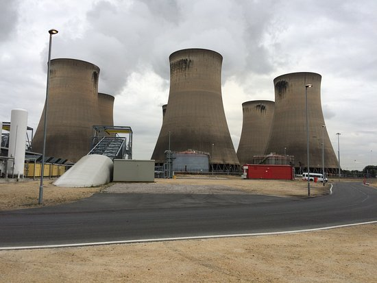 Selby, UK: Cooling Towers at the UK's Biggest Power Station