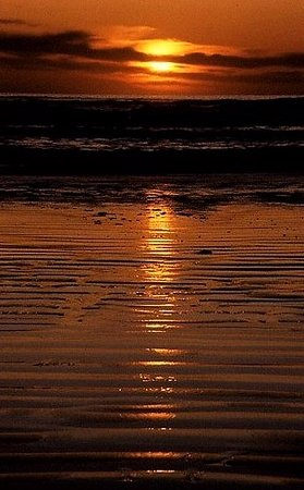 Nanaimo, Canada: sunset