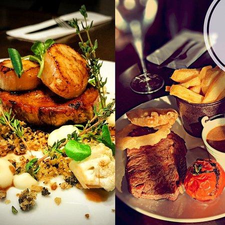 Ballyclare, UK: Monday steak night