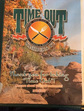 """Washburn, Ουισκόνσιν: Local spot for a """"Time Out"""" for breakfast."""