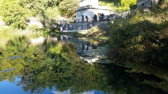 Sorgente del fiume Mercure