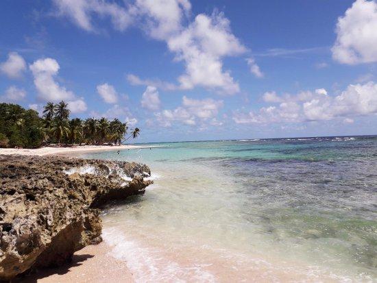 Capesterre, Guadeloupe: Plage de Petite Anse le 8 octobre 2017