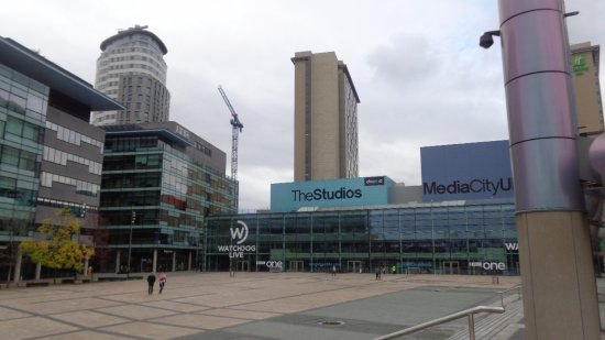 Salford, UK: MediaCityUK