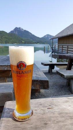 Hof bei Salzburg, Austria: Wheat beer