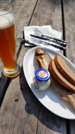 Hof bei Salzburg, Austria: Smoked fish