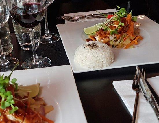 Amber asian food restaurant trondheim omd men om for Amber asian cuisine