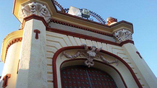 Olivella, Ισπανία: Portón de entrada.