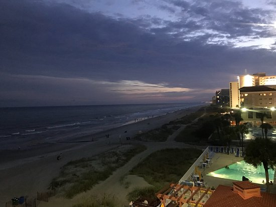 Westgate Myrtle Beach Oceanfront Resort: Views from our beautiful balcony room