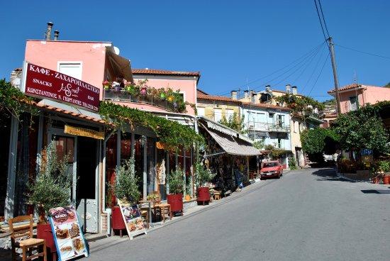 Agiassos, Grecia: Кисмет кафе