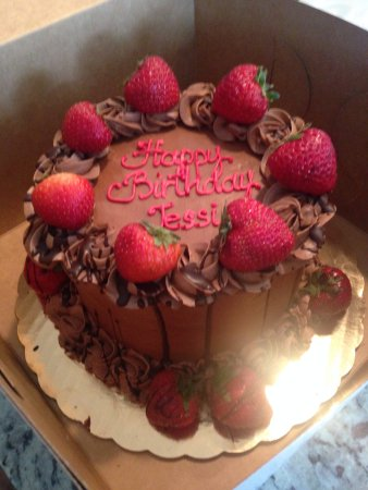 Birthday Cake - Picture of Irina's Gourmet Bakery, Overland Park ...