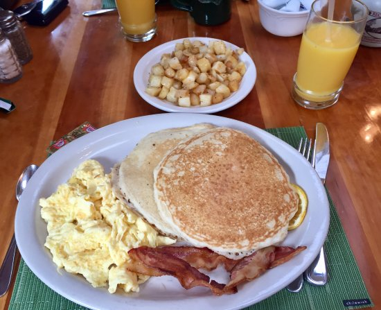 Bear Creek, PA: The Mama Bear with Breakfast Potatoes