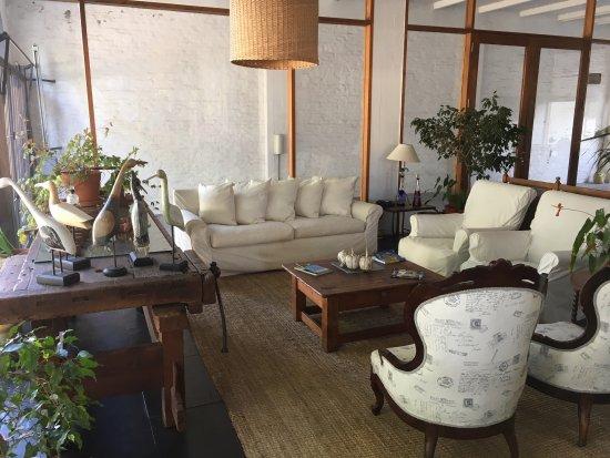 Hotel Casagrande: Living-recepcion