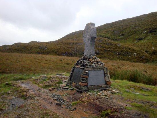 County Mayo, Ireland: Famine Walk Memorial