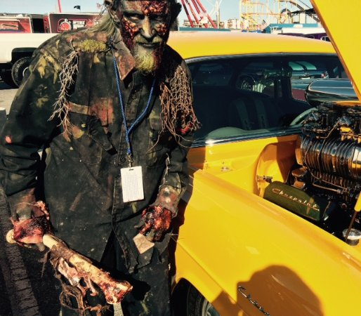 OCMD Car Show Picture Of Ocean City Screams Haunted House Ocean - Ocean city car show