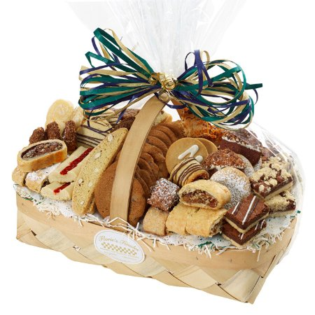 Nesconset, NY: 3 lb Sympathy pastry & cookie basket. Baked from scratch with the finest and freshest ingredient