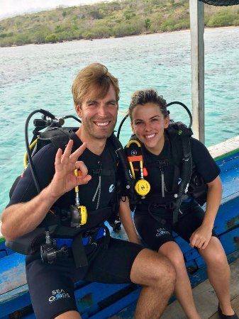 Banyuwedang, Indonezja: We had SO much fun diving with Bram on our honeymoon. We went on several dives during our trip t