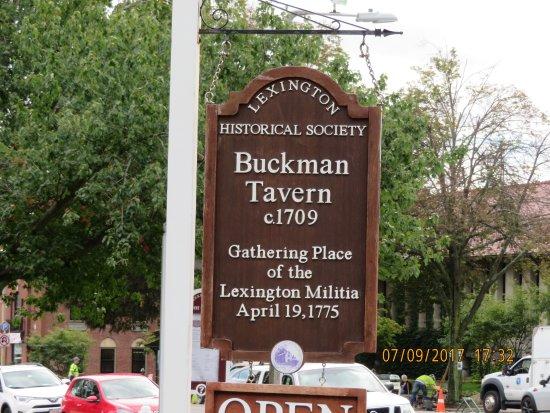 Lexington, MA: The Tavern
