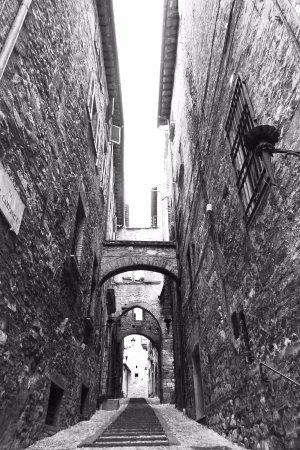 Narni, Italien: una via